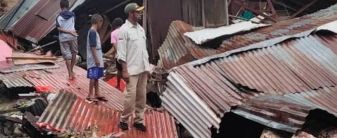 Два человека погибли в результате новых наводнений в Индонезии
