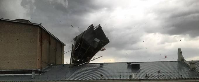 ВИДЕО. Мощные ураганы в городах России и Казахстана