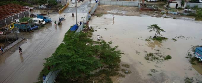 На Филиппинах сотни переселенцев в результате наводнения в провинции Себу