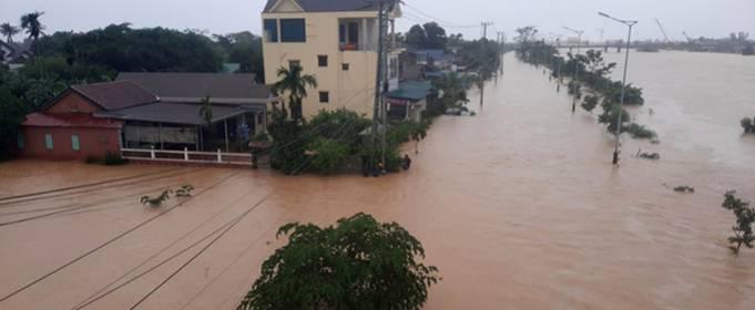 14 тысяч человек эвакуированы от наводнений в центральных провинциях Вьетнама