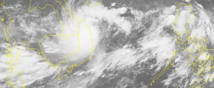 Тропический шторм «Линфа» несет новые дожди в затопленные части Вьетнама