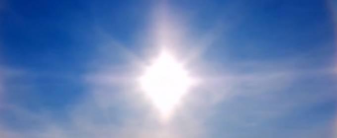 Рідкісне природне явище паргелій: на півночі Китаю спостерігали несправжнє Сонце