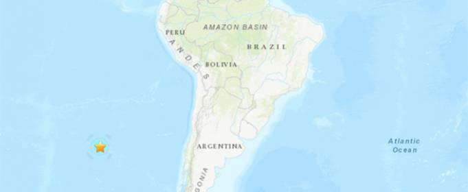 Сильний землетрус магнітудою 6.0 стався на півночі Чилі
