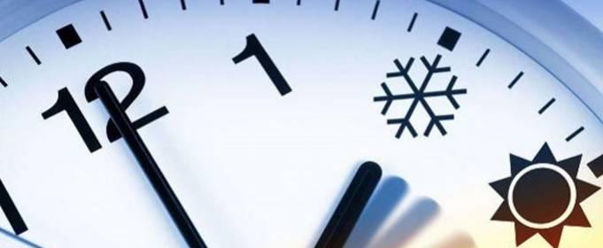 25 жовтня Україна переходить на зимовий час