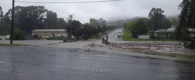 Сильный шторм вызвал наводнения в Австралии