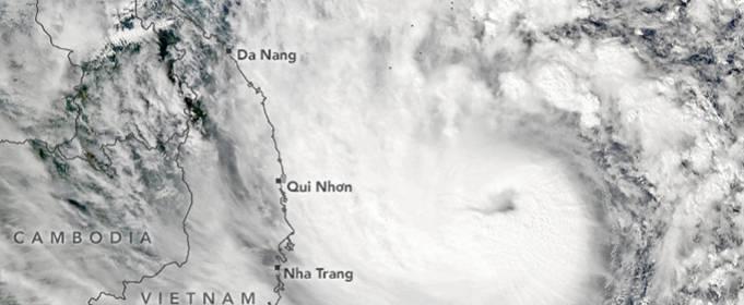 Во Вьетнаме Десятки пропавших без вести после дождя из-за тайфуна «Молаве»