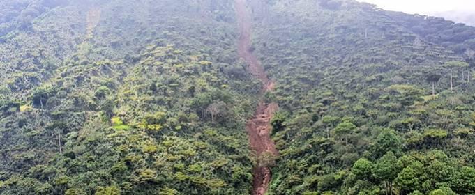 В Сальвадоре более 40 погибших или пропавших без вести после оползня
