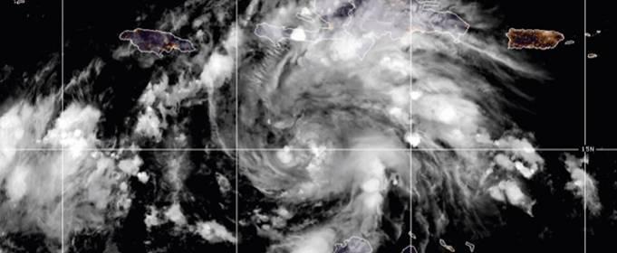 В Карибском бассейне образуется новый тропический шторм «Эта»