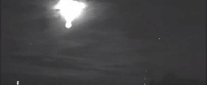 В небе над Пуэрто-Рико наблюдали взрыв метеорита