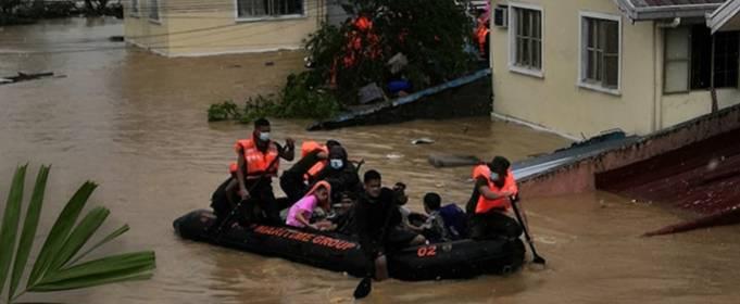 На Филиппинах растет число погибших от тайфуна «Вамко»