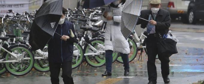 В столице Южной Кореи зафиксировано самое большое дневное количество осадков в ноябре