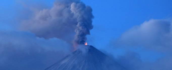 На Камчатке «проснулся» вулкан