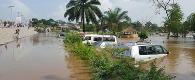 Проливные дожди вызывают наводнения в провинциях Демократической Республики Конго