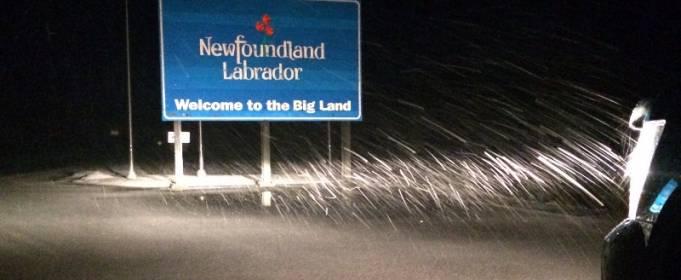 На Канаду обрушился рекордный снегопад