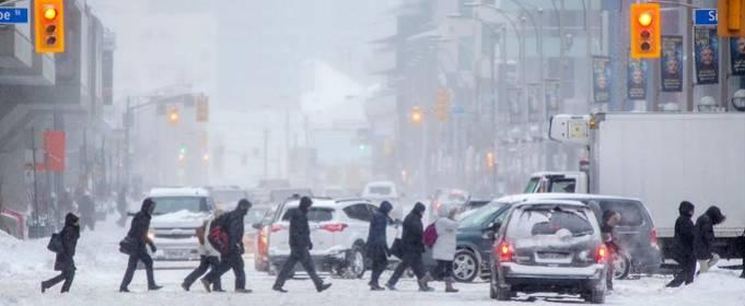 Торонто засипало рекордною кількістю снігу