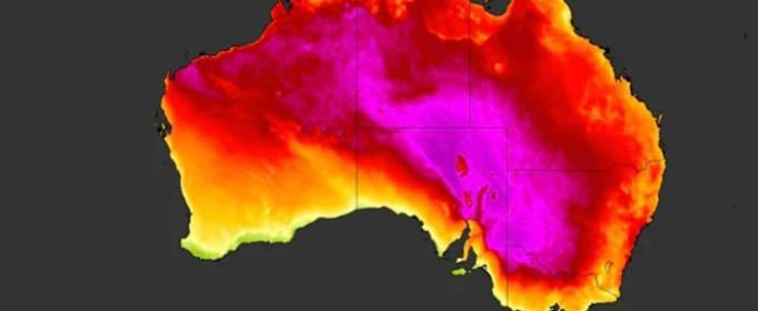 Австралию накрыло волной изнуряющей жары