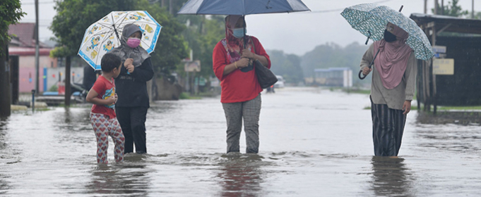 25 тысяч пострадавших от наводнений в Юго-Восточной Азии