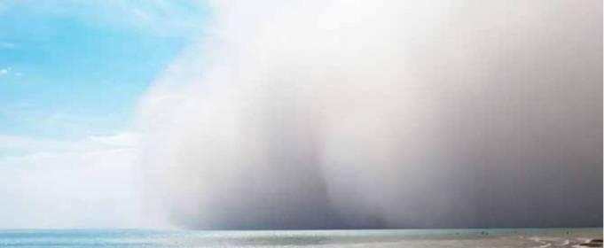 Песчаные бури влияют на жизнь океанов