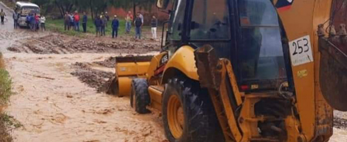 В Боливии после проливного дождя повреждено множество домов