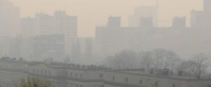 Состояние воздуха в Киеве за неделю не улучшилось