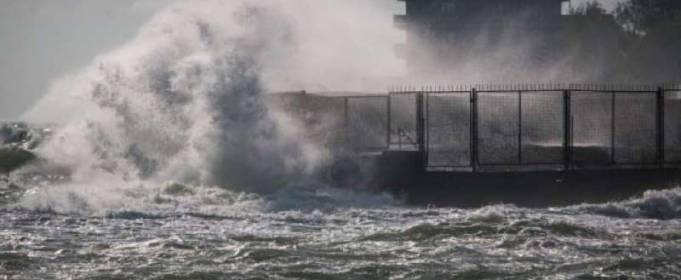 На украинское побережье надвигается шторм