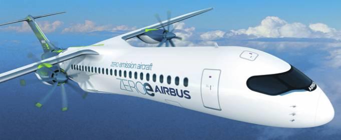 Французские конструкторы разработали водородный двигатель для самолетов