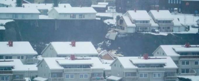 Страшный оползень накрыл район в Норвегии: десятки пострадавших и пропавших без вести