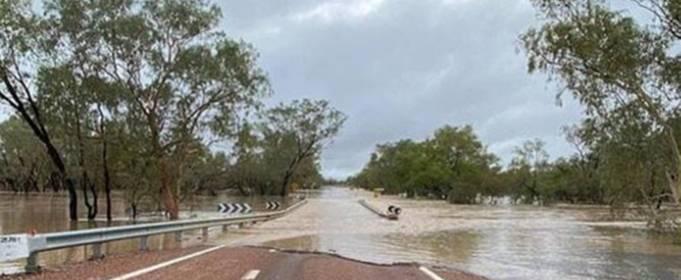 Сильный шторм вызвал наводнение в Австралии