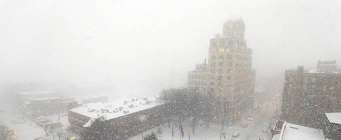 ВИДЕО. Мощные снегопады и снежные бури, снятые на камеру