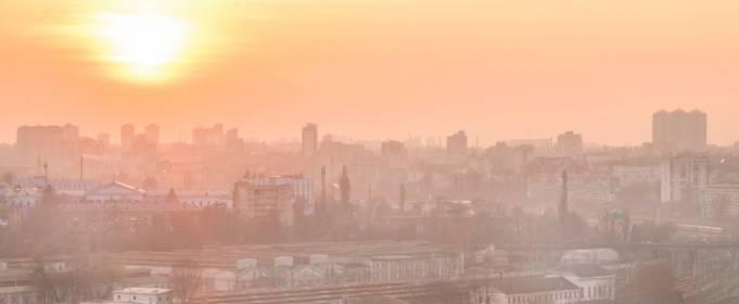 Уровень загрязнения воздуха в Киеве почти не изменился