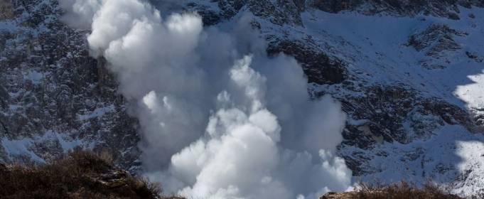 Смертоносные лавины сошли в горах Западной Европы