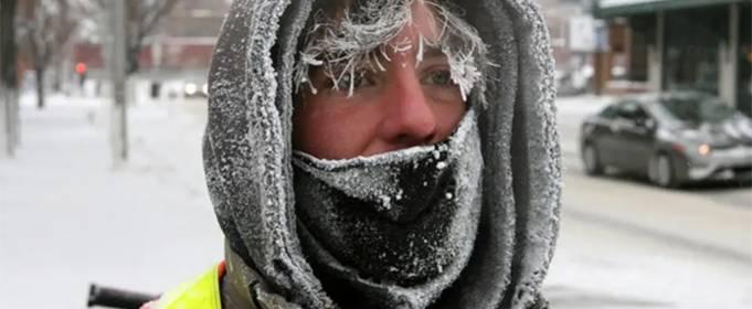 В Канаде зафиксированы рекордные морозы до -47 °С