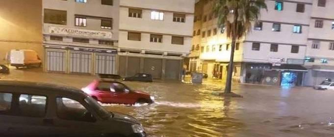 ВИДЕО. Сильное наводнение в Касабланке