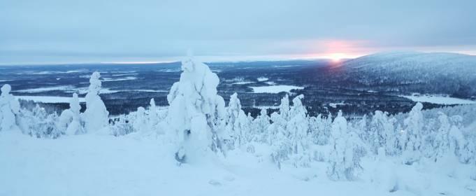 В Лапландии минус 39. Это самый холодный день года в Финляндии