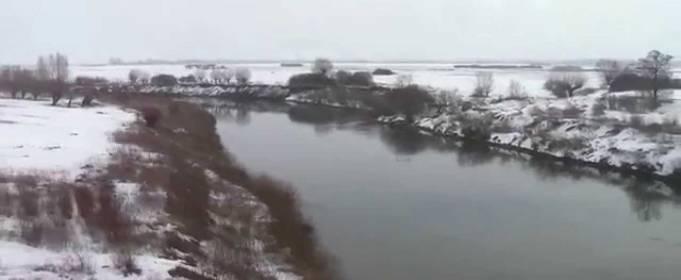 В реках на западе Украине возможно поднятие уровня воды