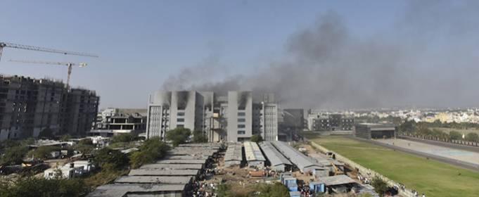 В результате пожара в Индийском институте сывороток погибли 5 человек