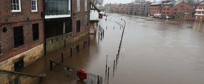ВИДЕО. Шторм «Кристоф» вызвал наводнение в Великобритании