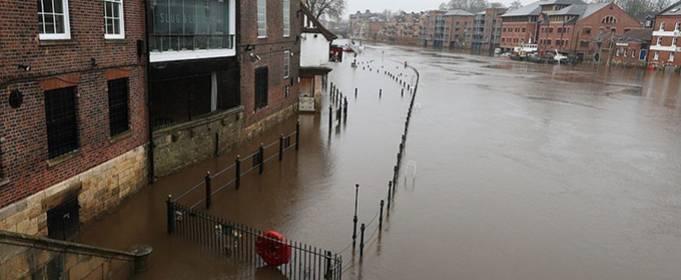 ВІДЕО. Шторм «Крістоф» викликав повінь у Великобританії