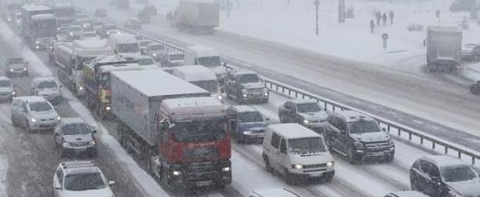 В Киеве в четверг ожидается сильный снегопад