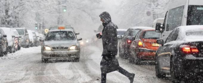 До Киева добрался циклон «Олаф»
