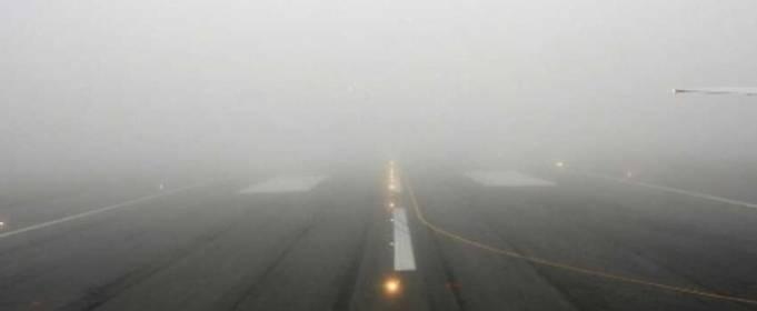 Туман паралізував роботу аеропорту в Одесі