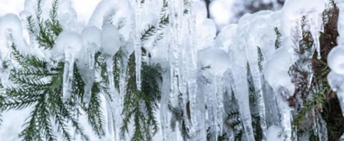 В Украину идут сильные морозы