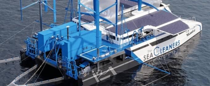 Во Франции разработали лодку, работающую как завод по переработке отходов