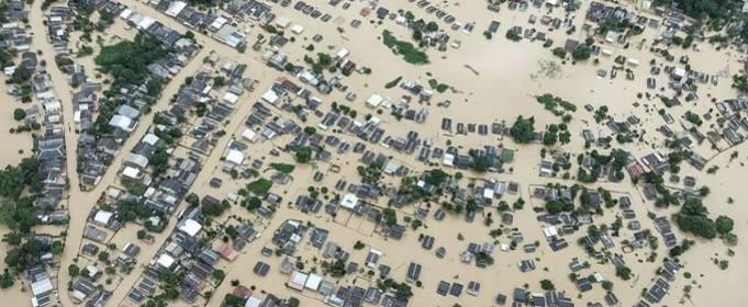 На северо-западе Бразилии от наводнения пострадали более 100 тысяч человек