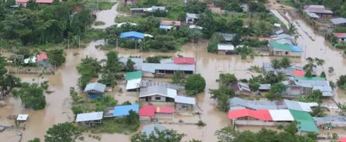 От наводнения в Перу пострадали тысячи домов