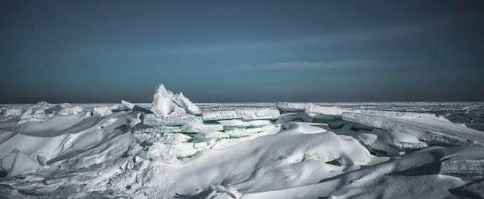 Арктика? Нет! Зима на Бердянской косе! ФОТО