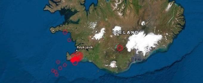 В Ісландії за 2 дні зареєстрували 5000 підземних поштовхів
