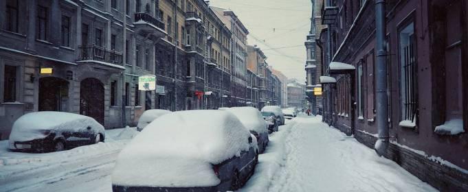 Зима в Петербурге стала самой холодной за пять лет