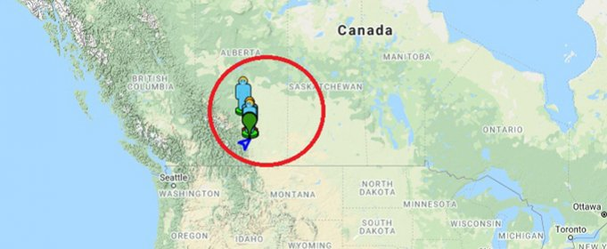 В небе над Канадой зафиксировали падение метеорита
