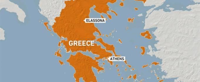 Сильное землетрясение сотрясло центральную Грецию